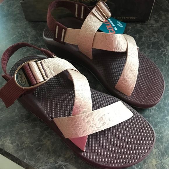 Nwt Womens Chaco Mega Z Cloud Sandals
